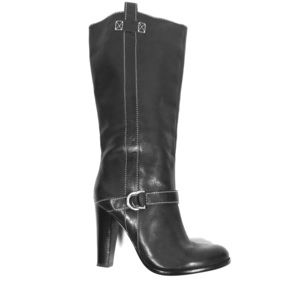 Ralph Lauren women's wide-calf  pull on boots